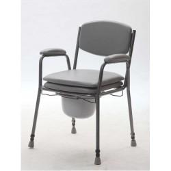 Tualeto kėdė su paminkštinta sėdyne