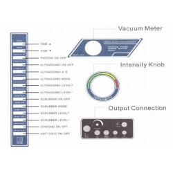 Deimantinės mikrodermabrazijos mašina