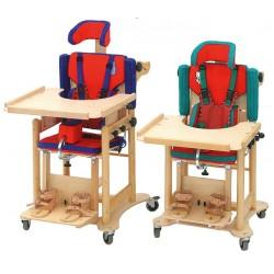 Medinės darbo kėdutės vaikui KR1