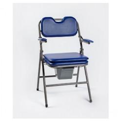 Sulankstoma tualeto kėdė