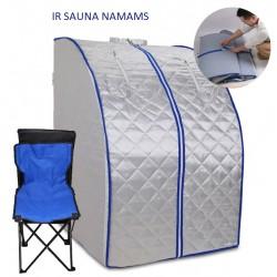 Infraraudonųjų spindulių sauna